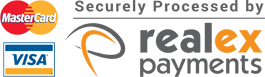 Online payments securely processed by Realex Payments